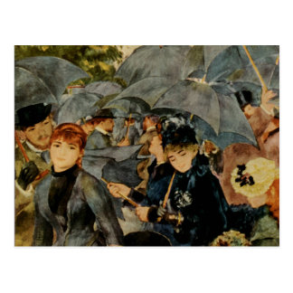 Pierre-Auguste Renoir's The Umbrellas (1883) Postcard