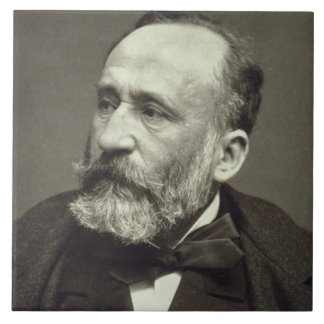 Pierre Cecile Puvis de Chavannes (1824-98), from ' Tile