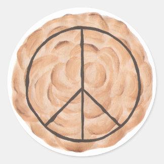 Pies for Peace Meringue Peace Pie Stickers