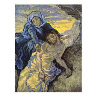 Pietà (after Delacroix), Van Gogh Fine Art Postcard