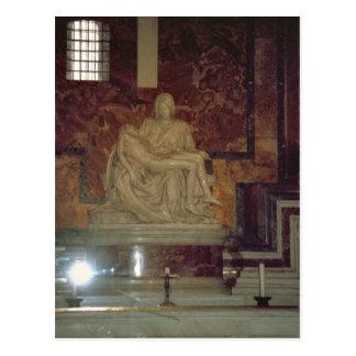 Pieta by Michelangelo in St Peter's Postcard