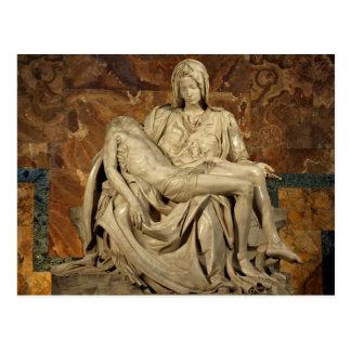 Pieta by Michelangelo Postcard