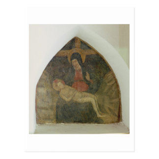 Pieta (fresco) postcard
