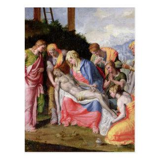 Pieta Postcard