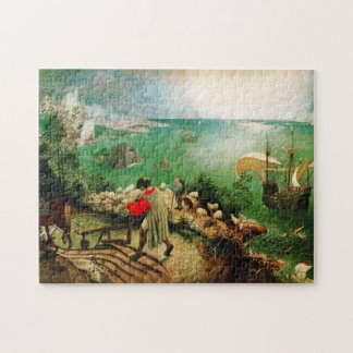 Pieter Bruegel Landscape with the Fall of Icarus Jigsaw Puzzle