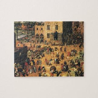 Pieter Bruegel the Elder- Children's Games Puzzles