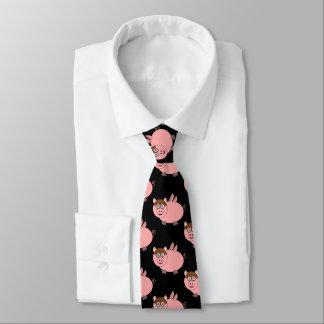 Pig Design Black Tie