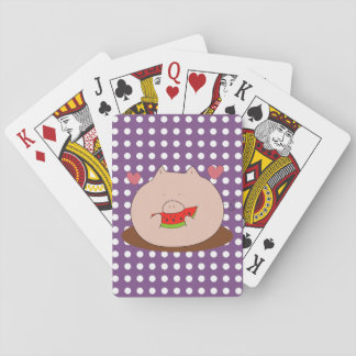 Pig Playing Cards