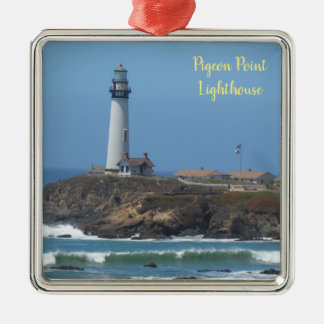 Pigeon Point Lighthouse Christmas Ornament