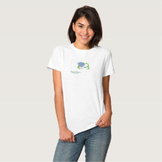 Pigeon Posture I white t-shirt