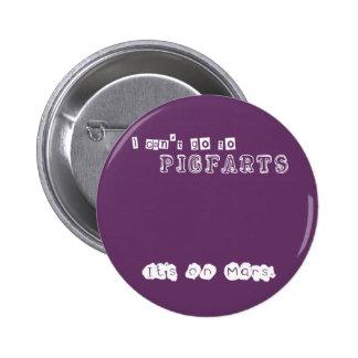 Pigfarts 6 Cm Round Badge
