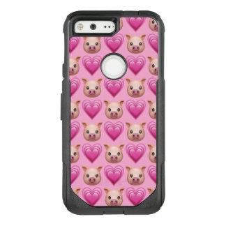 Piggy Emoji Google Pixel Otterbox Case