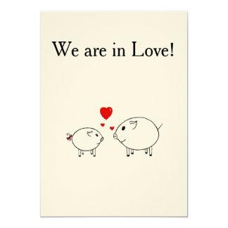 PiGgy in Love. Card