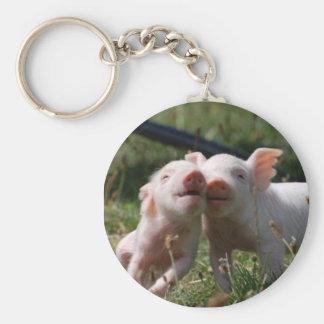 Piglets Key Ring