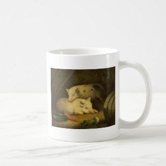 Pigs by George Morland Coffee Mug