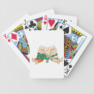 Pigs Paradise Bicycle Playing Cards