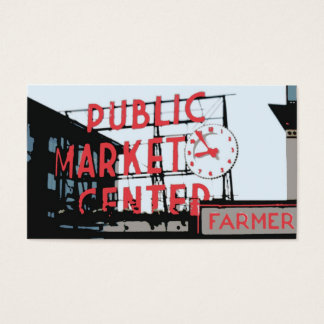 Pike Place Market Business Card
