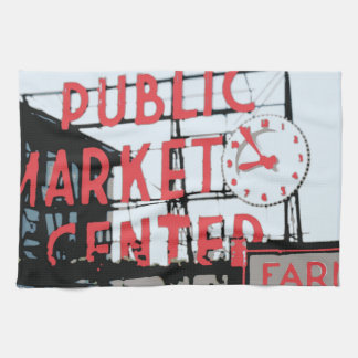 Pike Place Market Towel