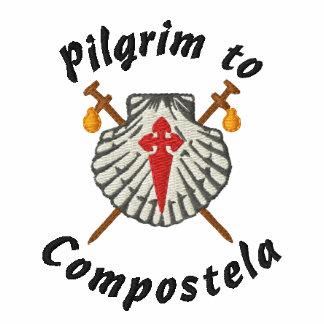 Pilgrim to Compostela Embroidered Shirt