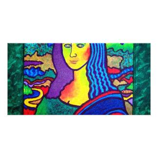 Piliero Mona Lisa Customised Photo Card