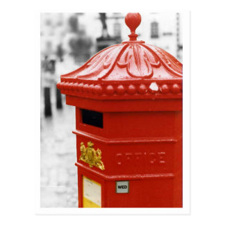 Pillar Box postcard - Penfold