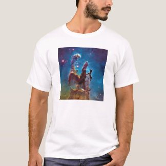 Pillars of Creation M16 Eagle Nebula Space Photo T-Shirt