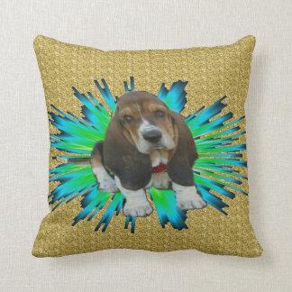 Pillow Baby Basset Hound Sheldon
