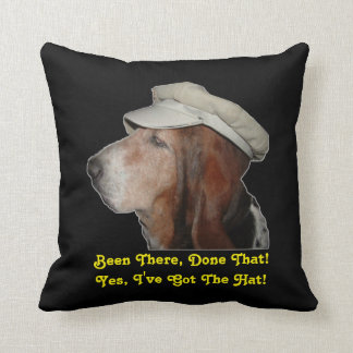 Pillow Basset Hound Been There Done That