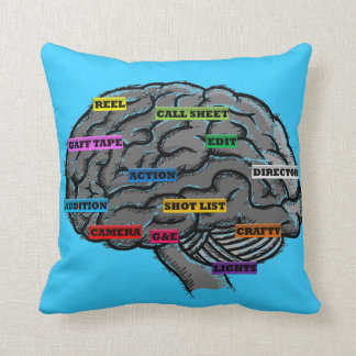 pillow brain film cinema crew actor zzz cushions