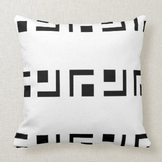 PILLOW IN BIANCO AND NERO