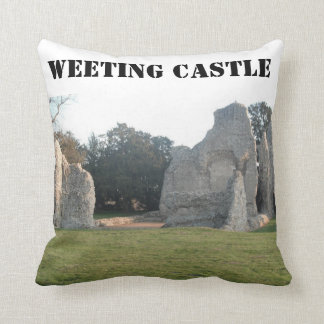 Pillow Weeting Castle Weeting Norfolk England