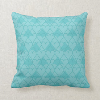 Pillow with heart design throw cushions