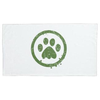 Pillowcase, dog paw pillowcase