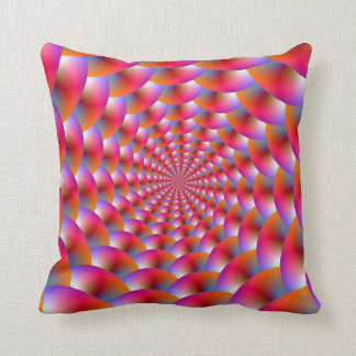 Pillows Spiral of Spheres in Pink and Violet