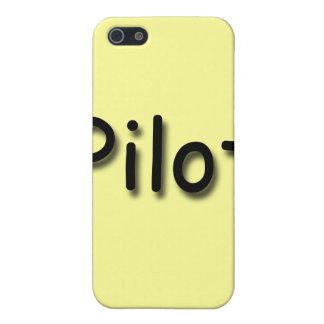 Pilot black iPhone 5/5S cover