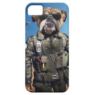 Pilot dog,funny bulldog,bulldog iPhone 5 cover