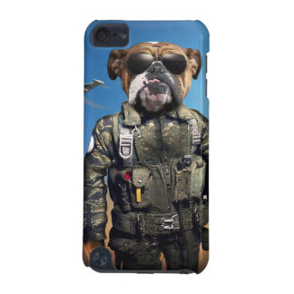 Pilot dog,funny bulldog,bulldog iPod touch 5G case
