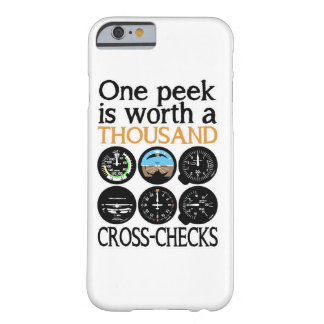 Pilot Six Pack - Cross Check Barely There iPhone 6 Case