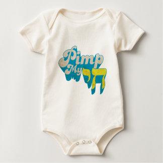 Pimp My CHAI - Funny stylish retro remake Baby Bodysuit