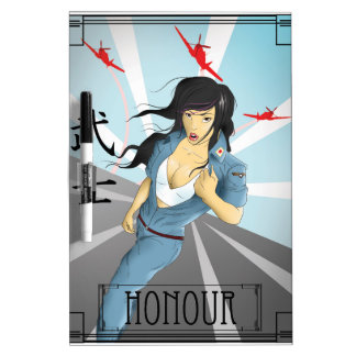 Pin Up Propaganda - Japan Dry-Erase Board