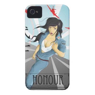 Pin Up Propaganda - Japan iPhone 4 Case-Mate Case