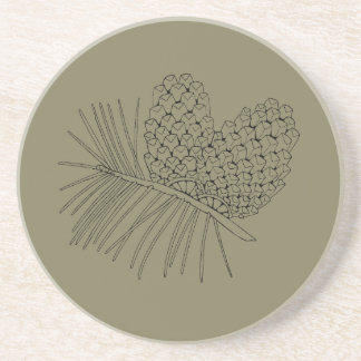 Pine Branch Two Drink Coaster