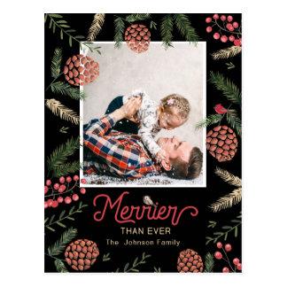 Pine Cone | Postcard | Holiday Photo Card