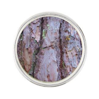 Pine Tree Bark Lapel Pin