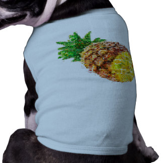 Pineapple collage - pineapple art - collage art shirt