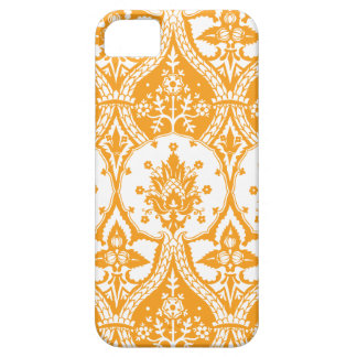 Pineapple Damask Orange Barely There iPhone 5 Case