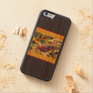 Pineapple Paradise Wooden iPhone case