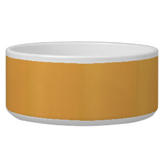 Pineapple Punch Yellow Pet Bowl