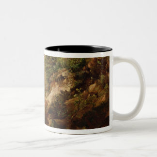 Pines & Birch Trees or The Forest of Two-Tone Mug