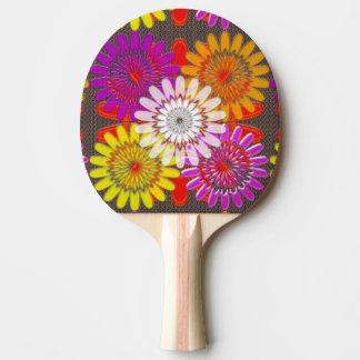 Ping Pong Paddle, Red Rubber Back  ART NavinJoshi Ping Pong Paddle